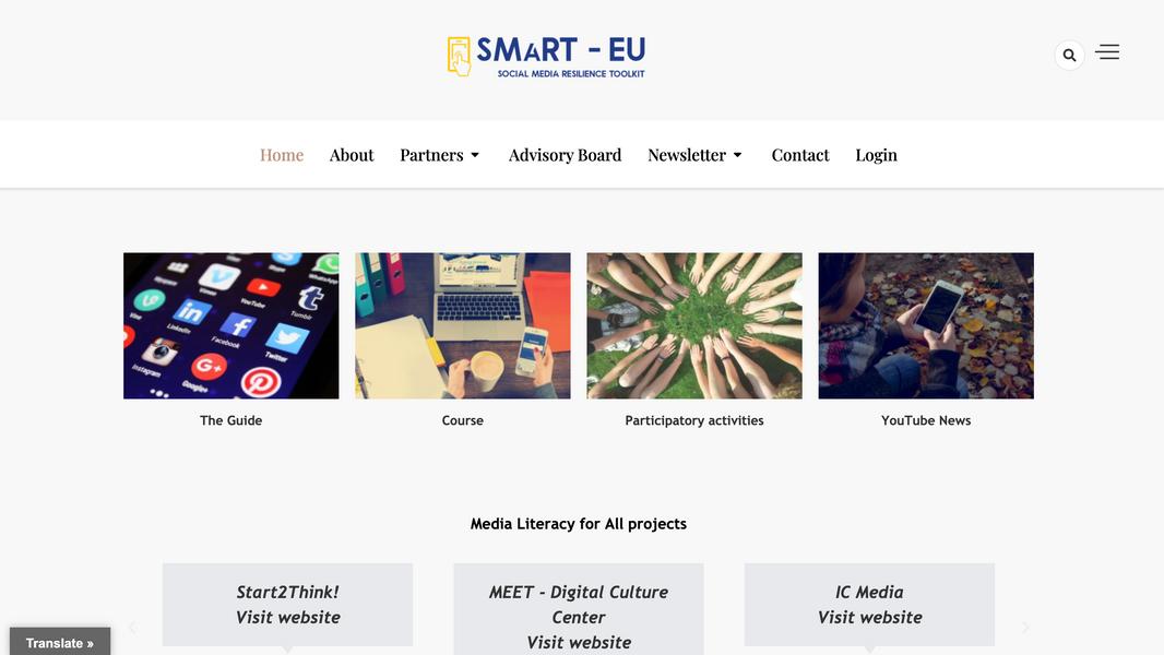 SMaRT-EU website
